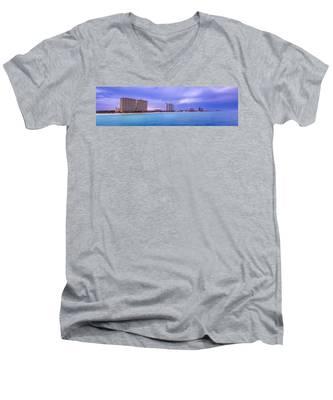 Panama City Beach Men's V-Neck T-Shirt