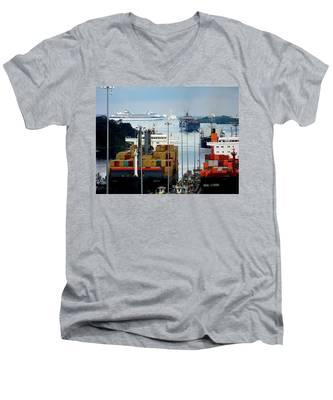 Panama Express Men's V-Neck T-Shirt