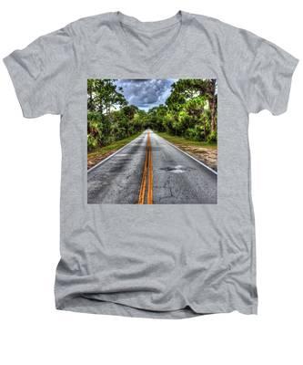 Road To No Where Men's V-Neck T-Shirt