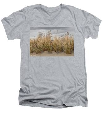 Sea Grass And Sand Men's V-Neck T-Shirt