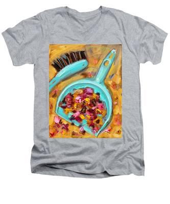St002 Men's V-Neck T-Shirt