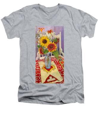 St011 Men's V-Neck T-Shirt