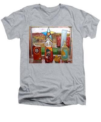 St013 Men's V-Neck T-Shirt