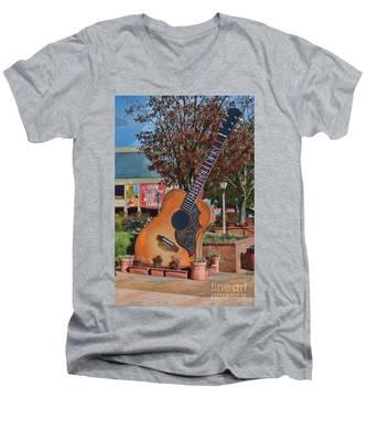 The Grand Ole Opry Men's V-Neck T-Shirt