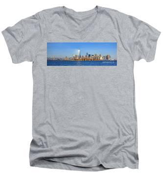 The New Manhattan Men's V-Neck T-Shirt