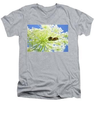 A Caterpillars Palace Men's V-Neck T-Shirt