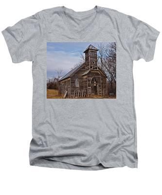 Abandoned Church Men's V-Neck T-Shirt
