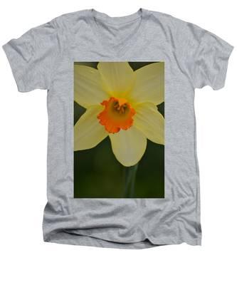 Daffodilicious Men's V-Neck T-Shirt
