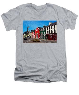 Dingle Bay Color Men's V-Neck T-Shirt