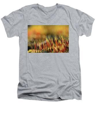 Flaming Moss Men's V-Neck T-Shirt