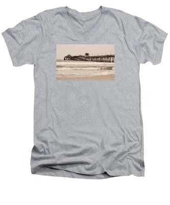 Imperial Beach Men's V-Neck T-Shirt