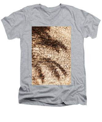 Palm Fragment Men's V-Neck T-Shirt