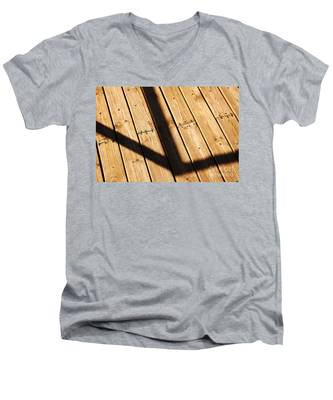 Shaded Walkway Floor Men's V-Neck T-Shirt