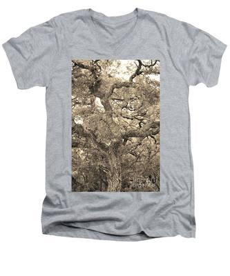 The Wicked Tree Men's V-Neck T-Shirt