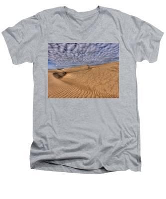 Magic Of The Dunes Men's V-Neck T-Shirt