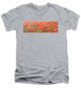 Summer Poetry Men's V-Neck T-Shirt