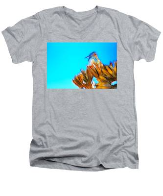 The Cactus Wren Men's V-Neck T-Shirt