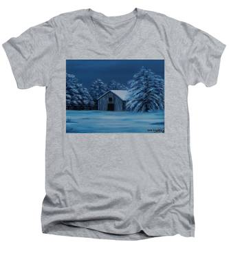 Windburg Barn 2 Men's V-Neck T-Shirt