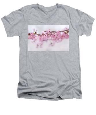 Beauty Of Blossom Men's V-Neck T-Shirt
