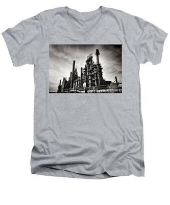 Bethlehem Steel Men's V-Neck T-Shirt