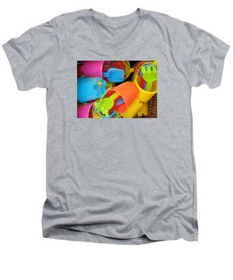 Buckets And Spades Men's V-Neck T-Shirt