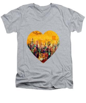 Camaraderie  Men's V-Neck T-Shirt