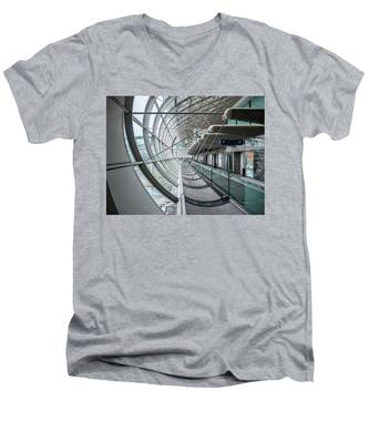 Charles De Gaulle Men's V-Neck T-Shirt