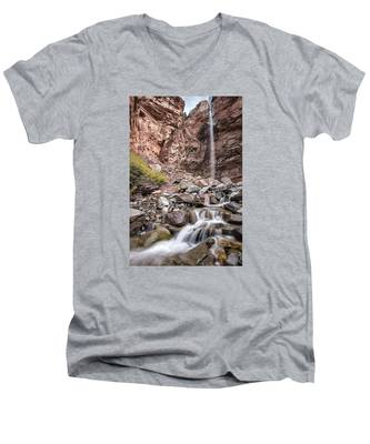 Cornet Falls Men's V-Neck T-Shirt