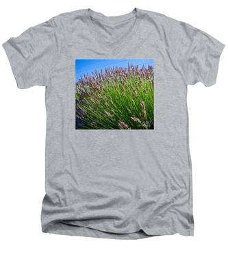 Country Lavender I  Men's V-Neck T-Shirt