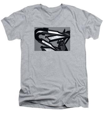 Crissy Field Iron Scuplture Men's V-Neck T-Shirt