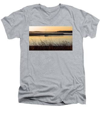 Early Morning Haze Men's V-Neck T-Shirt