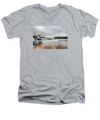 Men's V-Neck T-Shirt featuring the photograph Fine Art Colour-193 by Joseph Amaral