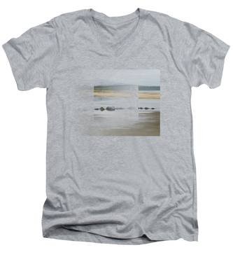 Foggy Day Men's V-Neck T-Shirt
