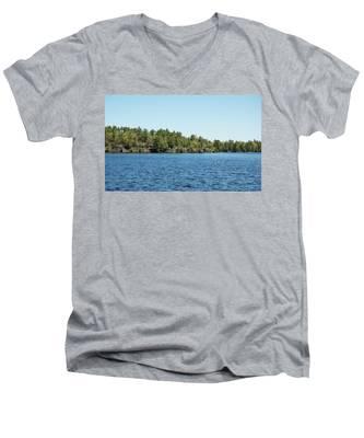 Gull Lake Men's V-Neck T-Shirt