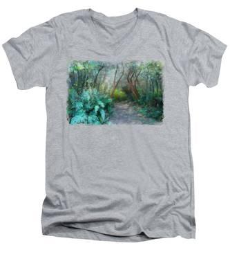 In The Bush Men's V-Neck T-Shirt
