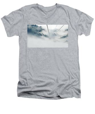 Into The Abyss Men's V-Neck T-Shirt