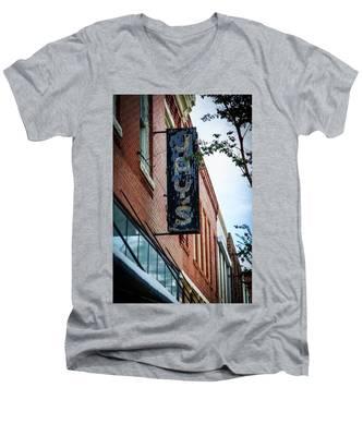 Jay's Sign Men's V-Neck T-Shirt