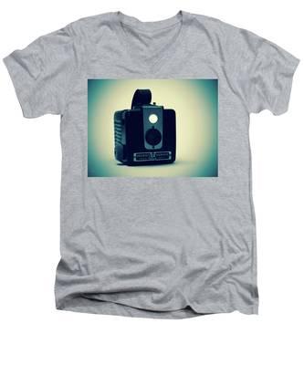 Kodak Brownie Men's V-Neck T-Shirt