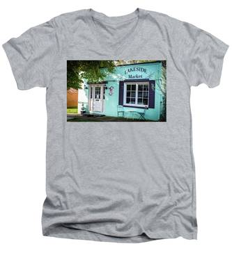 Lakeside Market Men's V-Neck T-Shirt