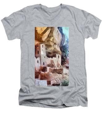 Mesa Verde Men's V-Neck T-Shirt