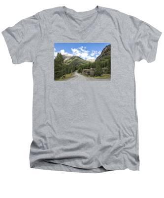 Mountain Crossroads Men's V-Neck T-Shirt