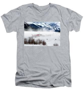 Mountain Landing Men's V-Neck T-Shirt