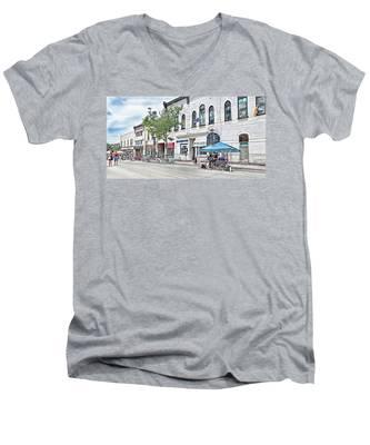 Peter Street Art Corridor Men's V-Neck T-Shirt