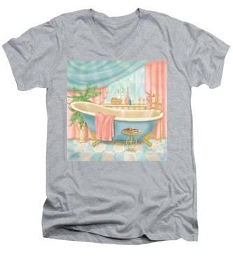 Pretty Bathrooms I Men's V-Neck T-Shirt