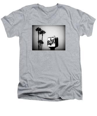 R-10 Social House Men's V-Neck T-Shirt