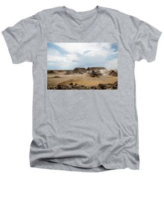 Rock Crushing 2 Men's V-Neck T-Shirt