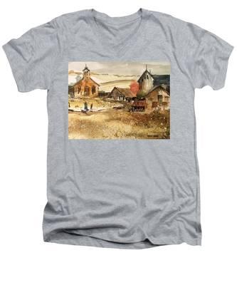 SOL Men's V-Neck T-Shirt
