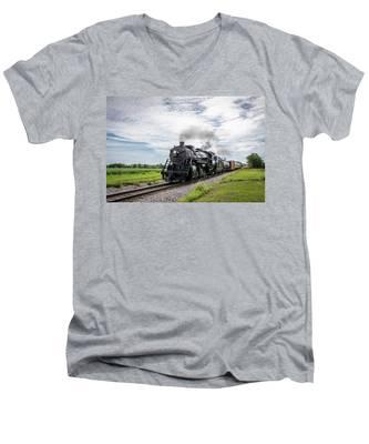 Soo 1003 At Darien Men's V-Neck T-Shirt