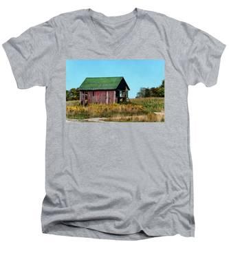 Standing Silent Men's V-Neck T-Shirt