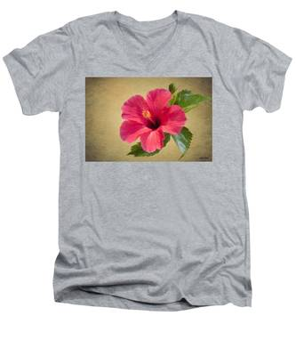 Study In Scarlet Men's V-Neck T-Shirt